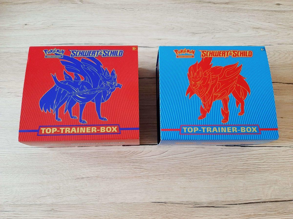 Pokémon Sammelkarten Trainerbox Schwert & Schild